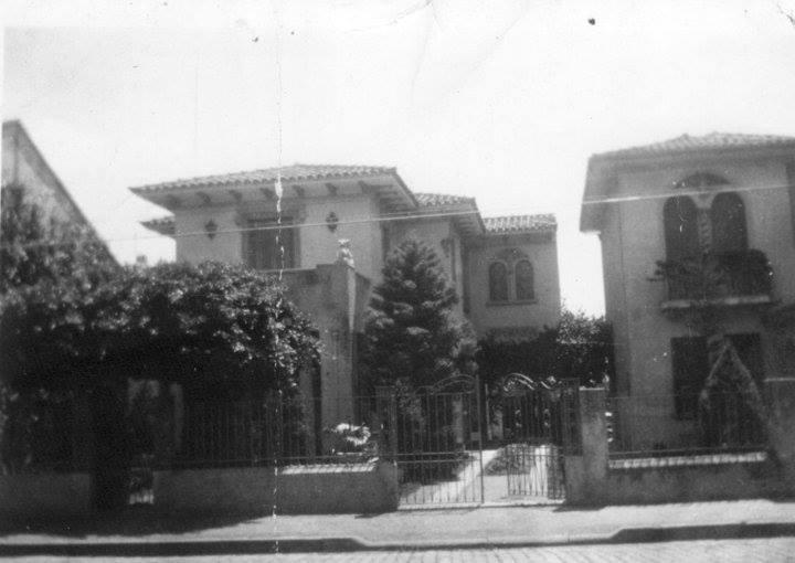 Rua Antônio Cesarino altura Rua Conceição, em 1941. Hoje é o Condomínio Edifício Palmeira Imperial(próximo a Praça Imprensa Fluminense). Acervo Nelson Santucci Torres.