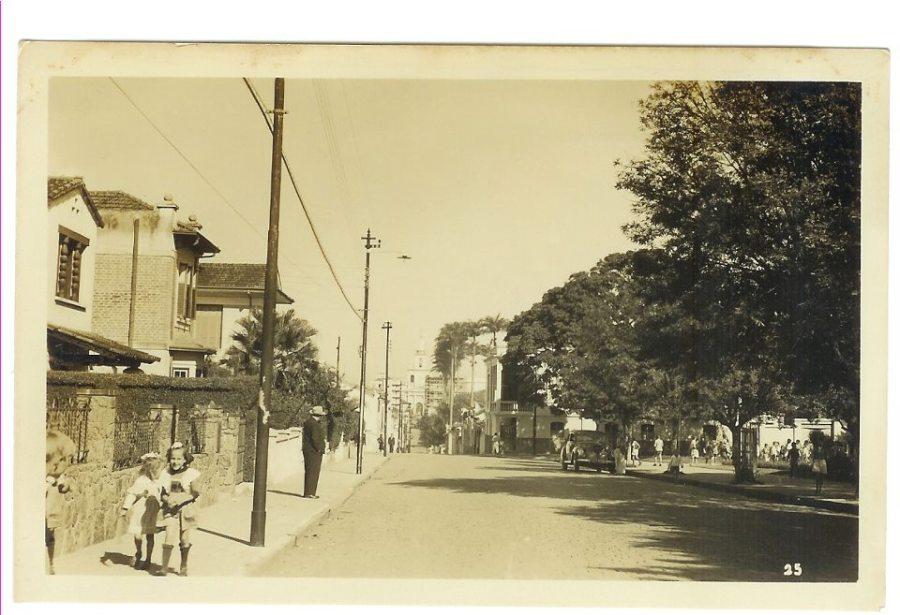 Rua Conceição X Antonio Cesarino, década de 1940.