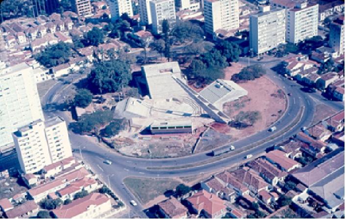 Teatro Arena,  década de 1970.