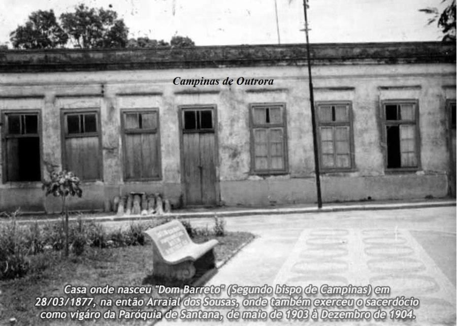 Casa onde nasceu Dom Barreto