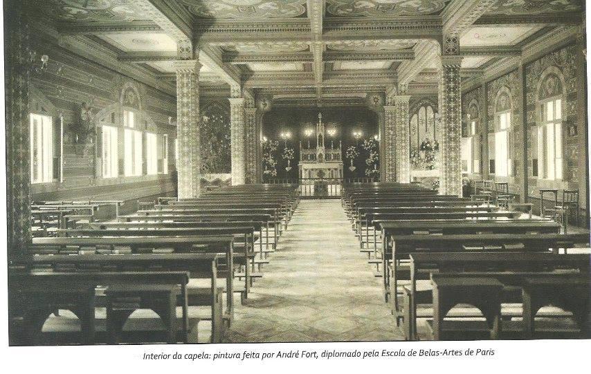 Colégio Sagrado Coração de Jesus, capela demolida.