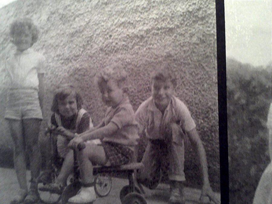 Camila, Marina, Marcello e Guilherme Glycério de Freitas, em 1960.