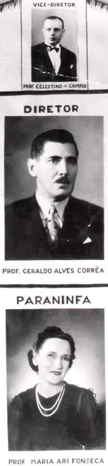 Celestino de Campos, Geraldo Alves Corrêa e Maria Ari Fonseca.