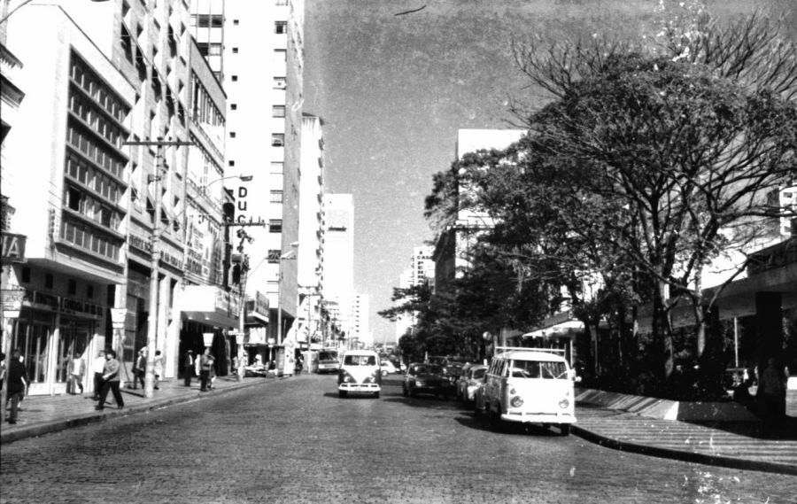 Av. Campos Sales - anos 60. Acervo Francisco de Almeida Lopes
