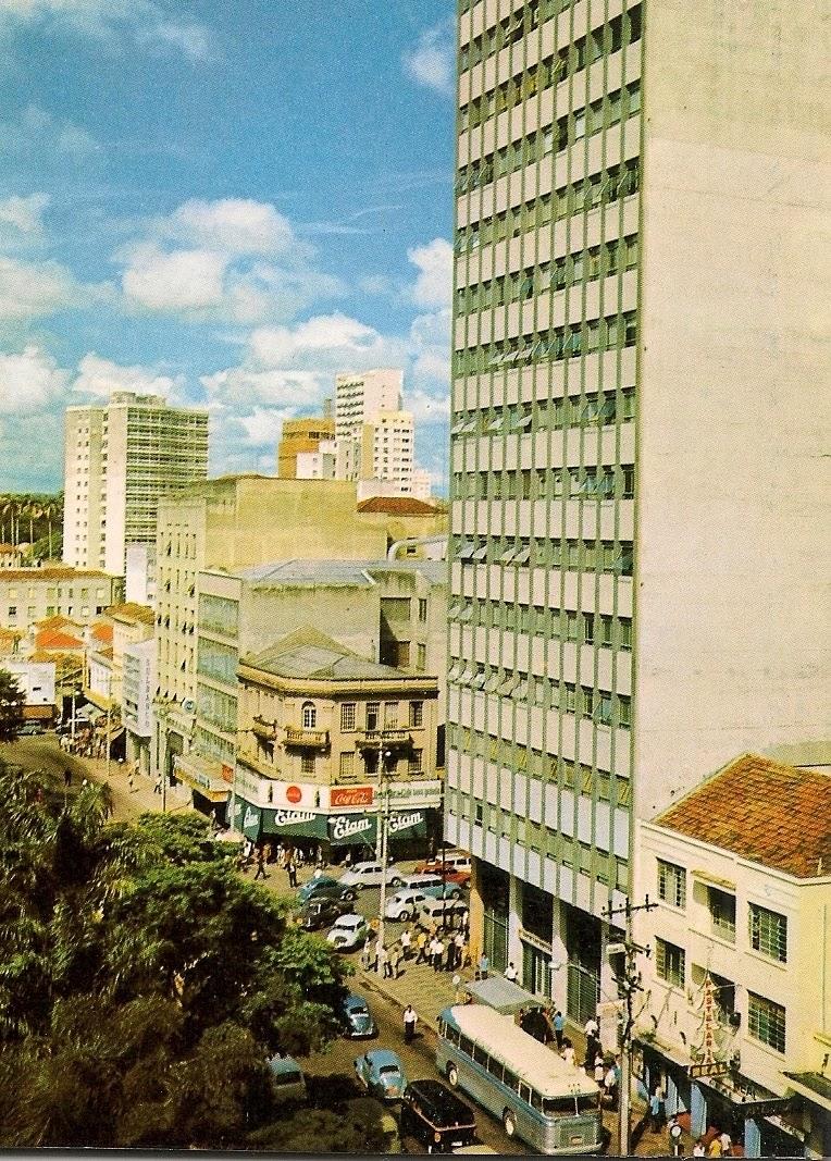 Av. Campos Salles X Av. Francisco Glicério - década de 1960