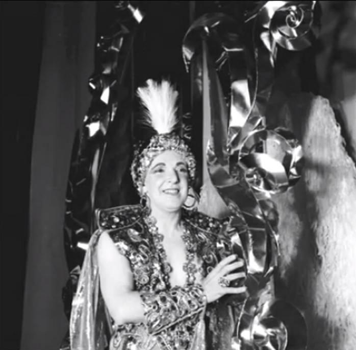 Carlito Maia, em da peça - 1950.