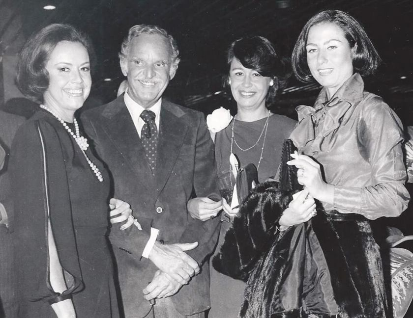 Geninha Penteado de Camargo, Dr. Roberto Rocha Brito, Yolanda Cardoso de Almeida Crissiuma e Giovanna Maria Vellutini Lobo de Moraes.