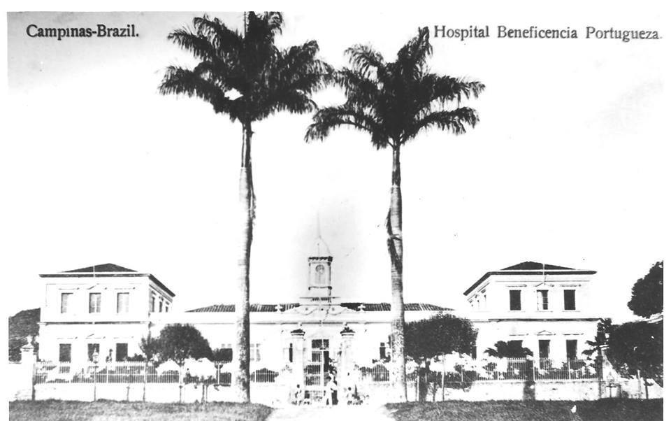 Hospital Beneficiência Portuguesa - 1922