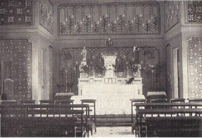 Hospital Beneficiência Portuguesa -Capela , em 1929