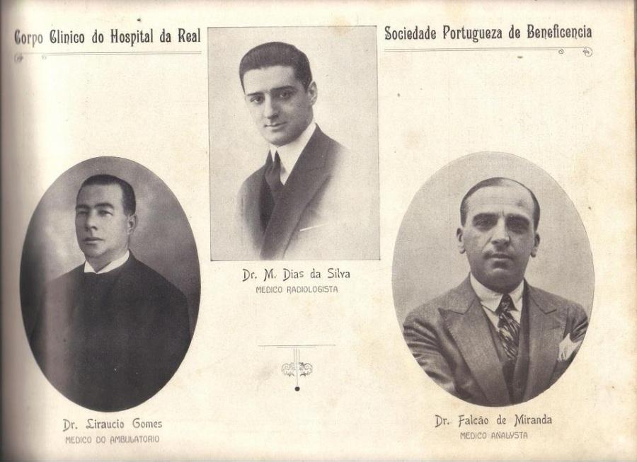 Hospital Beneficiência Portuguesa Corpo Clínico 1926