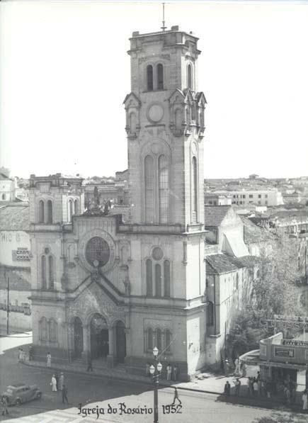 Igreja do Rosário, em 1952.