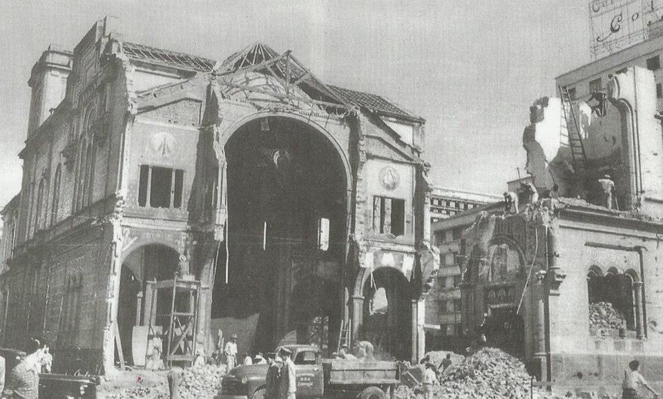 Igreja do Rosário em 1956. Foto Gilberto De Biasi.