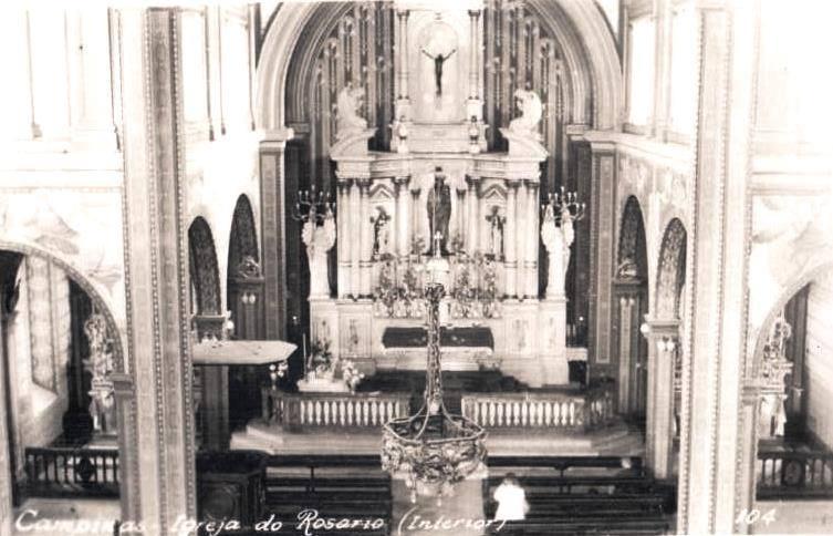 Igreja do Rosário - interior
