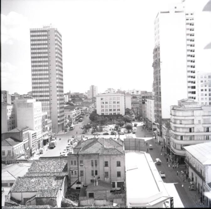 Largo do Rosário, em 1959. Acervo Washington Marcondes