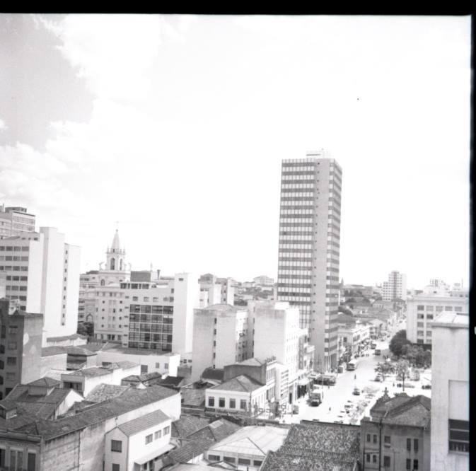 Largo do Rosário, em 1960. Acervo Washington Marcondes