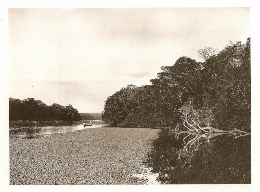 Rio Atibaia, século XX. Coleção Austero Penteado.