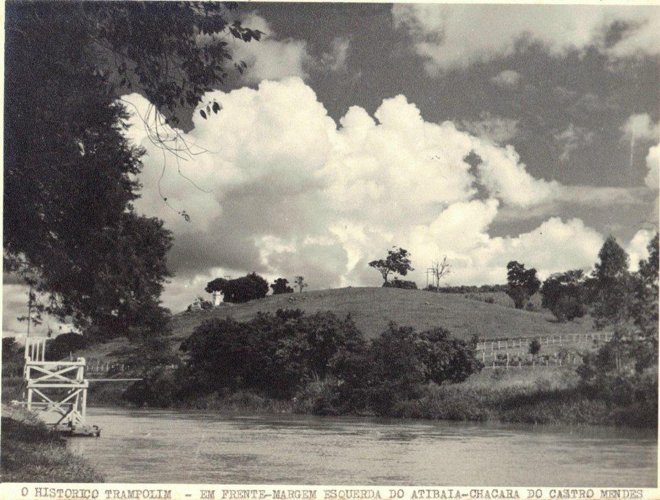 Rio Atibaia, anos 40.