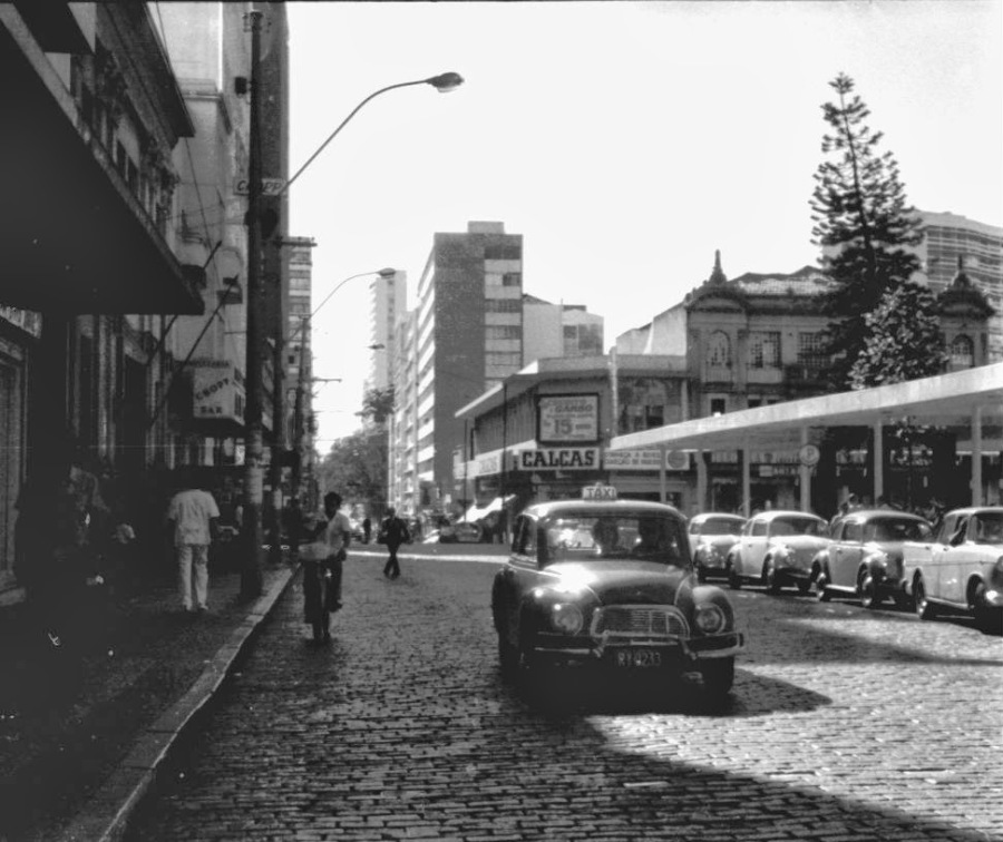 Rua General Osório - final dos anos 60.