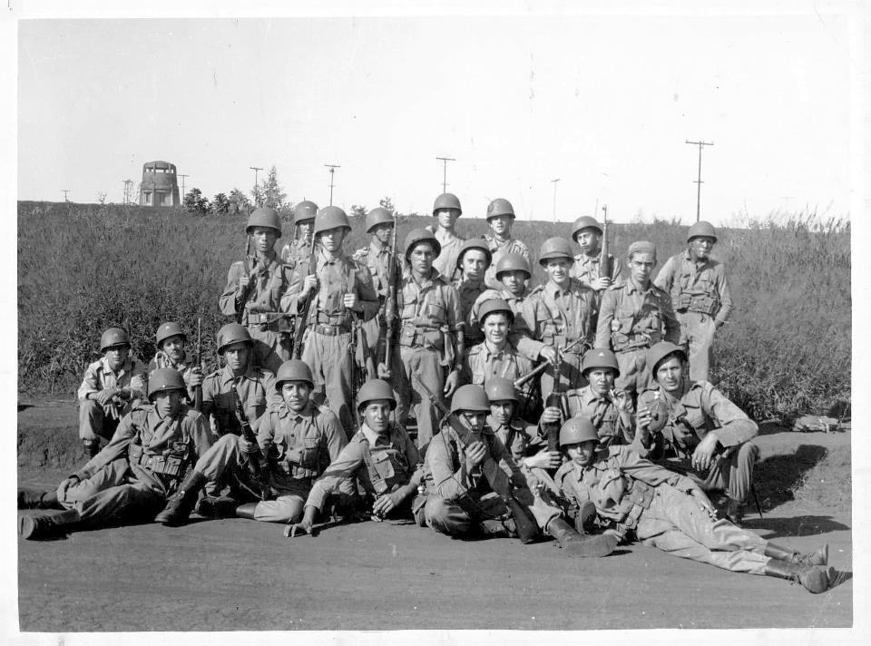 Soldados da Turma de 1948. Acervo de Edson Montgomery.