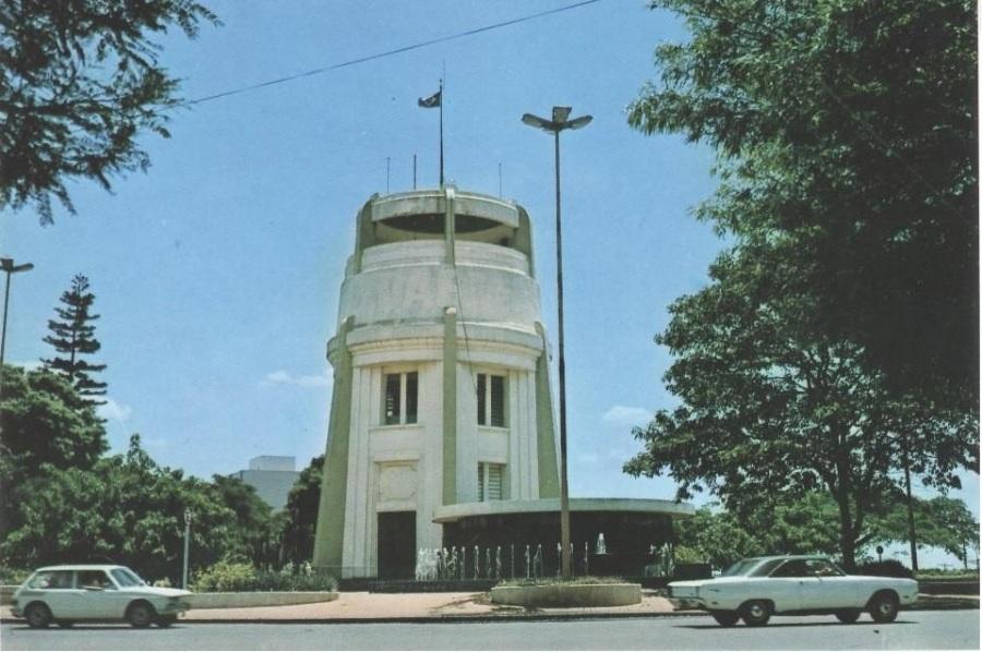 Torre do Castelo,  década de 1980. Acervo Alexandre Fonseca Jorge