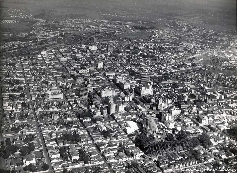 Vista aérea - anos 60. João Balan