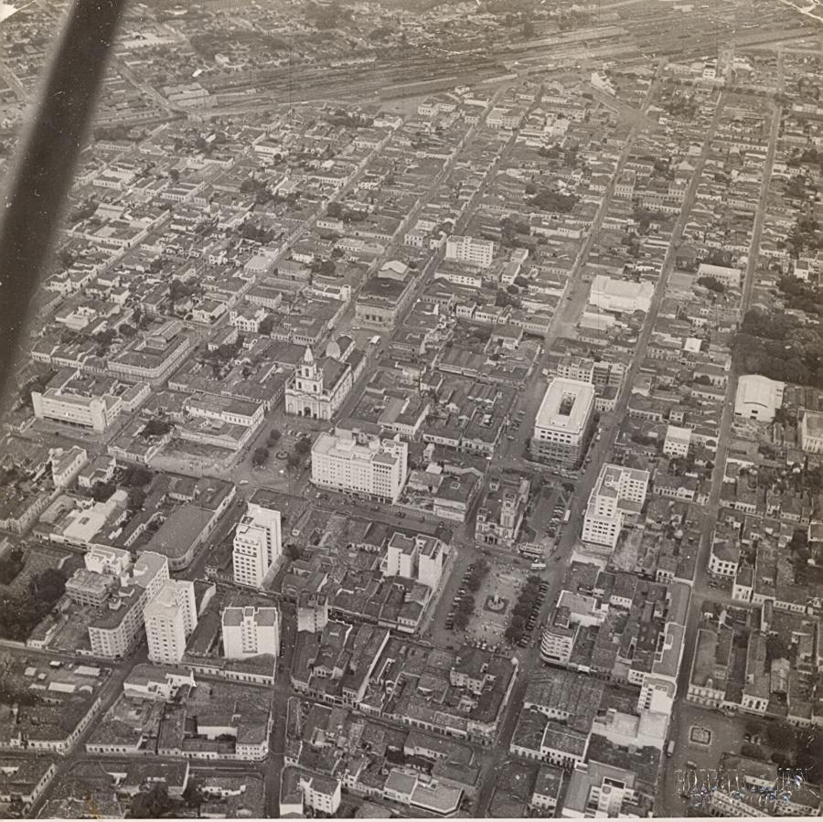 Vista aérea - década de 1950. Foto De Biasi