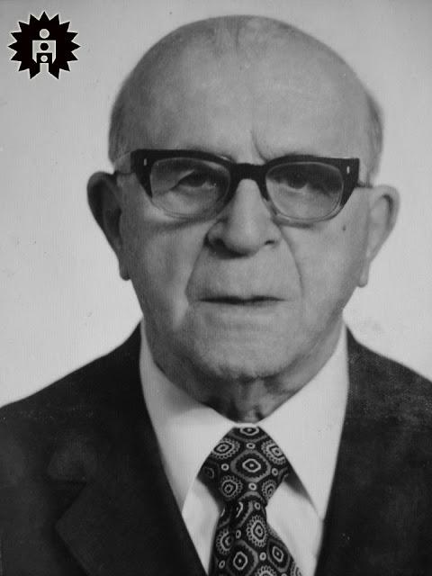 Professor Felício Marmo aos 90 anos, em 1974.