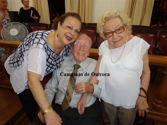 Marilene Costa, Rubem Costa e Jessy Braga.