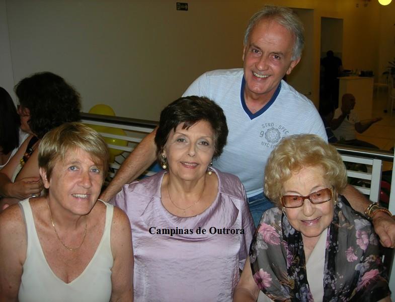 Vera Lígia, Maíra de Souza Amaral Camargo, Jessy e Marcos.