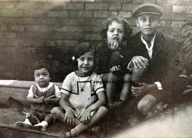 César Campos, Jessy Braga, Francisco Braga e Marcel Campos.