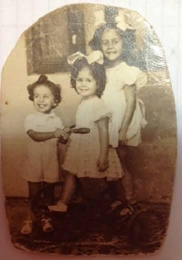 Jairo, Sônia e Vera Lígia.
