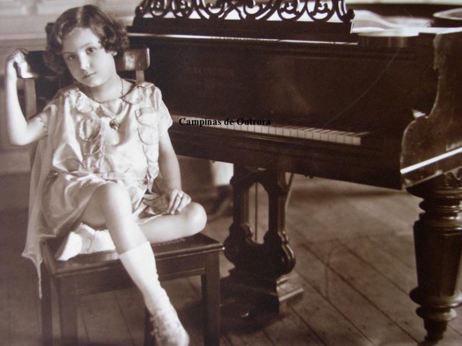 Jessy Braga, com 6 anos.