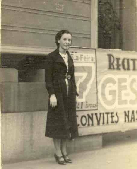 Jessy Braga, levando o nome de Campinas para outras fronteiras. Final dos anos 30.