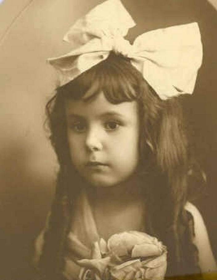 Jessy, em 1921, aos 05 anos