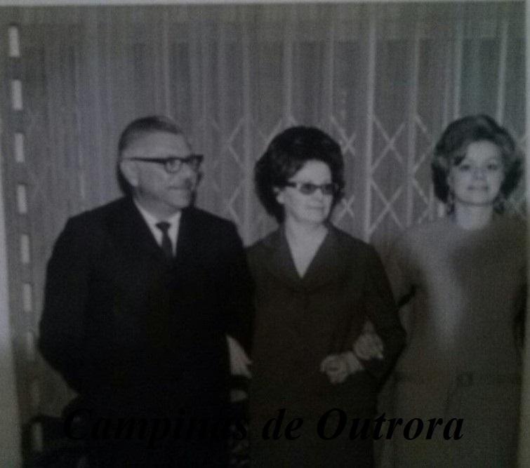 José Nicolau, Lydia e Iene.