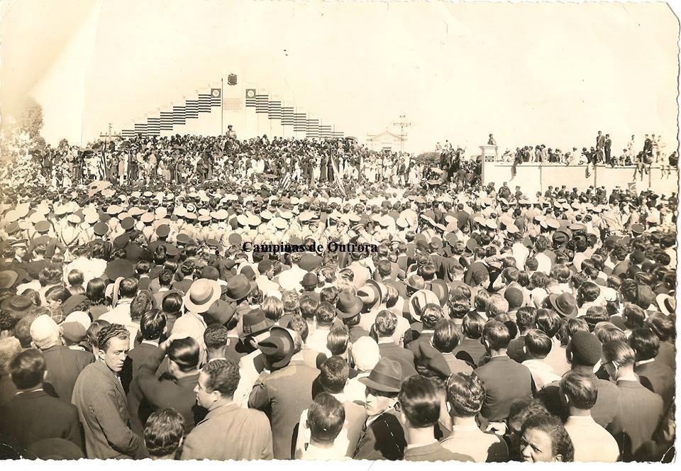 Inauguração, em 1935.  Obra de Marcelino Vélez.