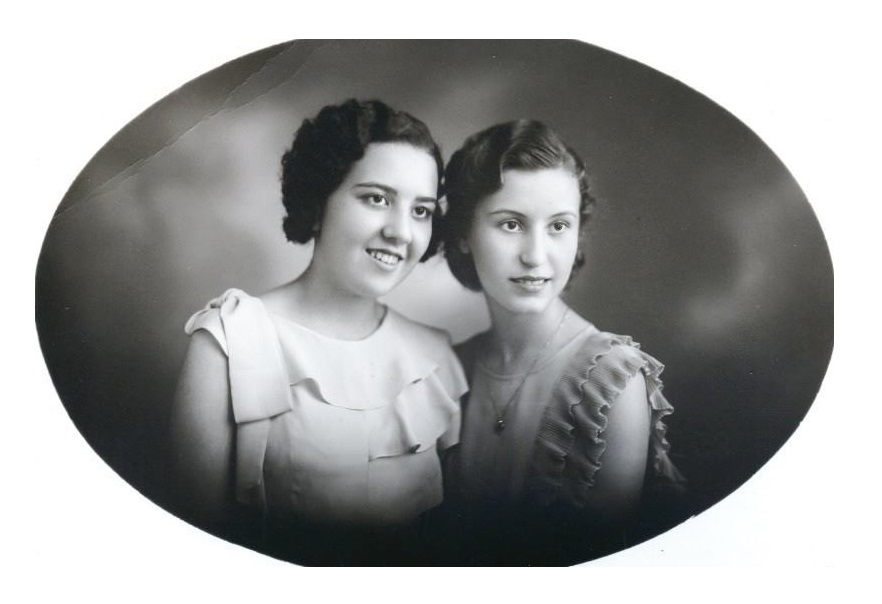 Nellie Freire Braga e Jessy Braga.