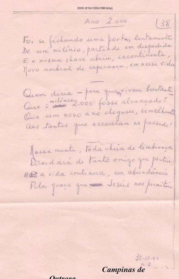 Poesia do Dr. Mário de Campos Bueno Jr.