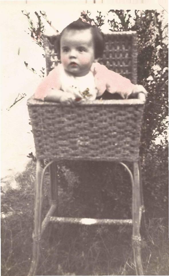 Vera Lígia, na cadeira