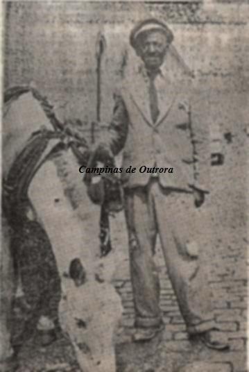 """Dito. Foto extraída do livro """"Tipos Populares - Fisionomias de Uma Cidade"""", João Lanaro, 1954."""
