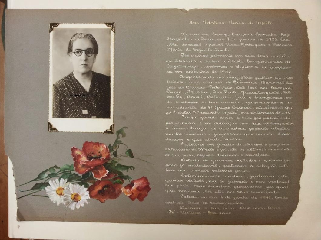 Profa. Ana Idalina Vieira de Mello