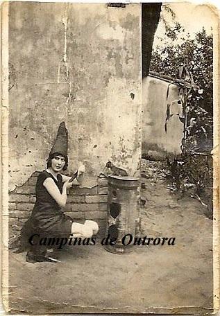Anna(Anete) Francisca Gomide, filha do Dr. Miguel. Acervo