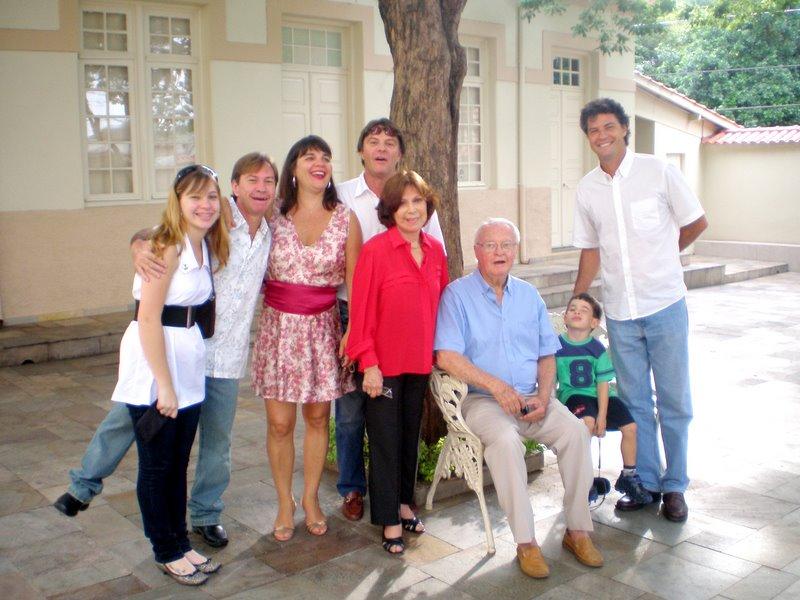 Maria Sylvia e família