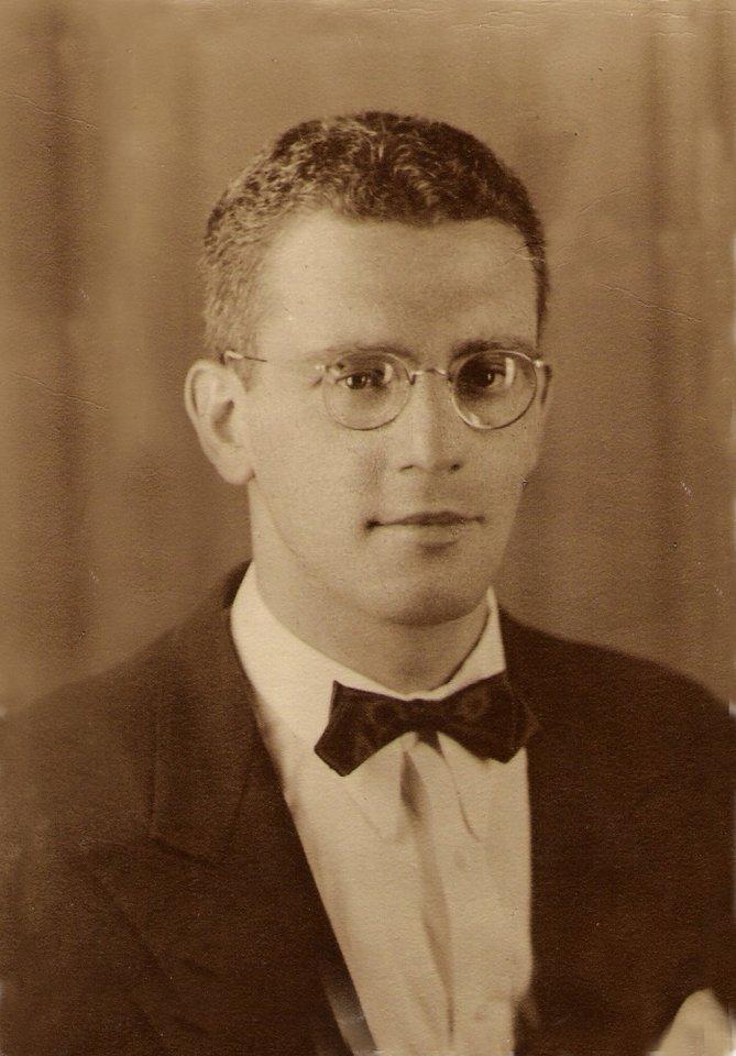 Álvaro, em 1938.