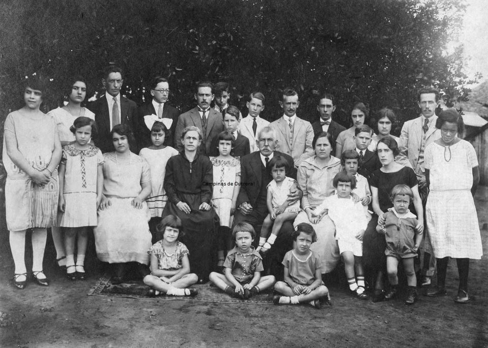 Família Mattosinho, final dos anos 20.