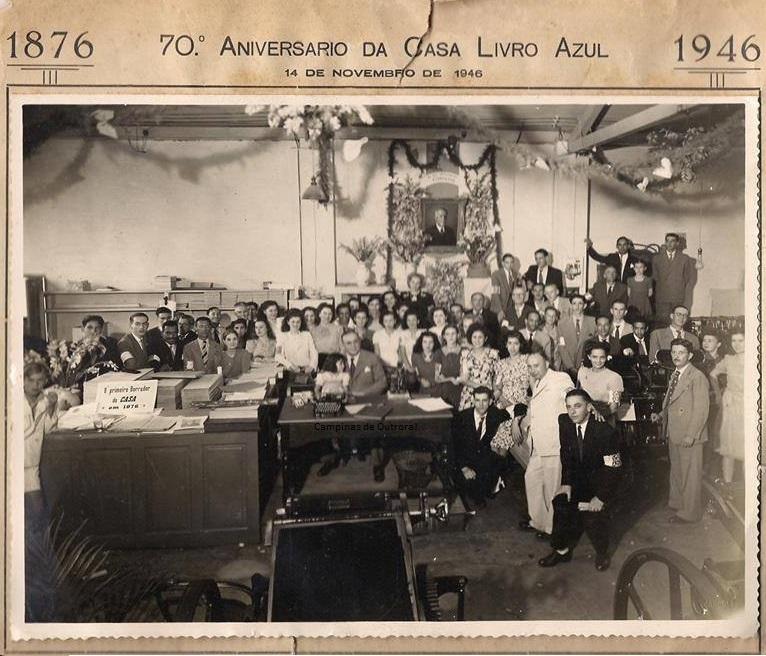 Casa Livro Azul, em 1946
