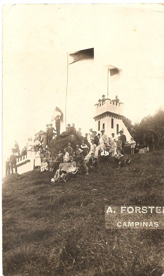Chácara de A.B. de Castro Mendes, em Sousas.  Foto: Antônio Forster.