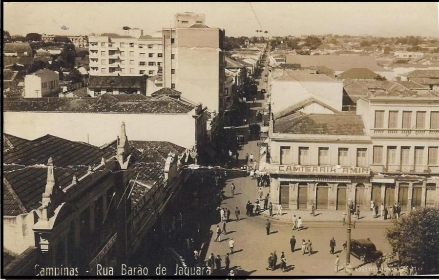 Largo do Rosário, na década de 1940.