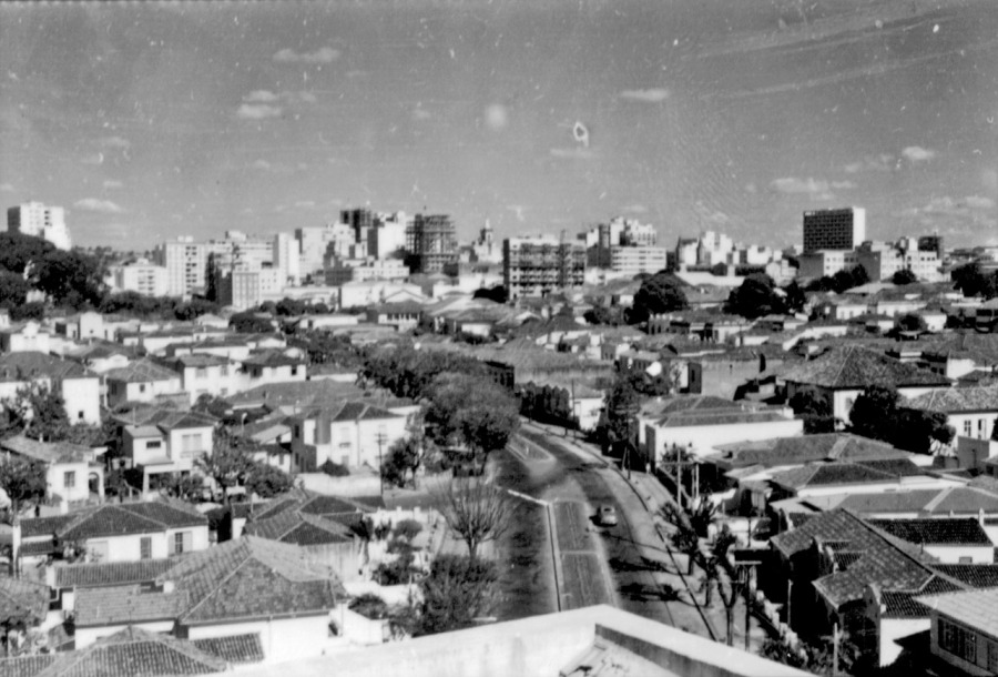 Avenida Anchieta, em 1950.  Acervo