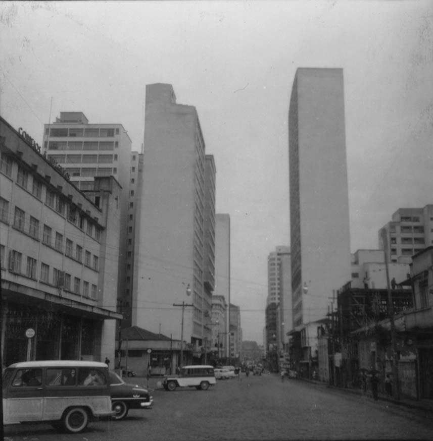 Avenida Francisco Glycério, em 1960  Acervo